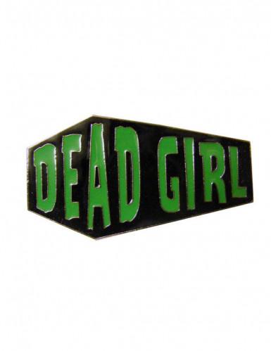 Kreepsville Sarg-Ring Dead Girl schwarz-grün