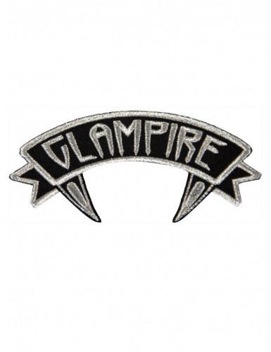 Kreepsville Gothic Aufnäher Patch Glampire schwarz-weiss