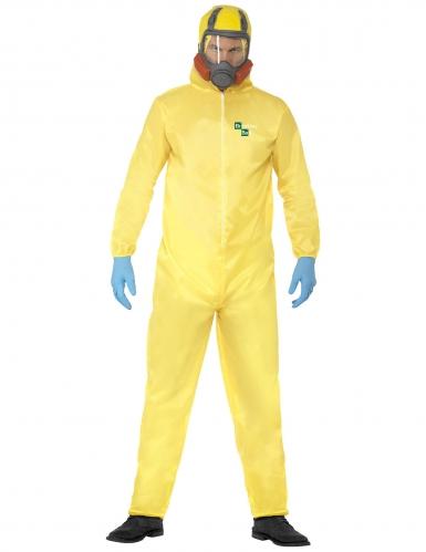 Breaking Bad™ Heisenberg Kostüm-Set für Erwachsene gelb