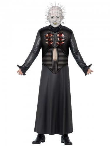 Hellraiser™ Pinhead Halloweenkostüm Lizenzware schwarz