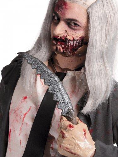 Messer Halloween-Waffe grau 36x6cm