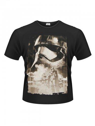 Captain Phasma™-T-Shirt Star Wars VII™ schwarz-grau