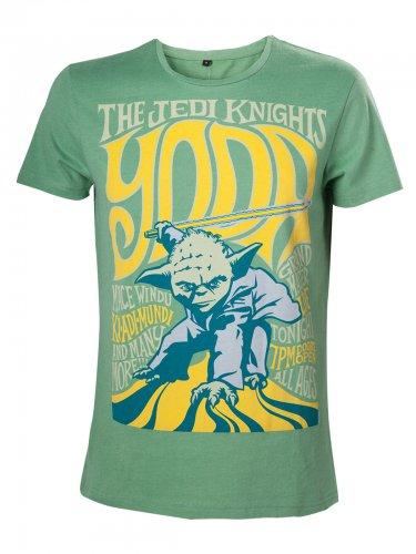 Star Wars Yoda The Jedi Knights T-Shirt Lizenzware grün