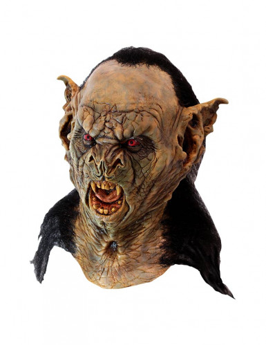 Fledermaus-Vampir Graf Dracula Halloween-Maske braun-schwarz