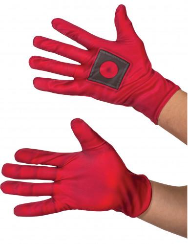 Deadpool™-Handschuhe Lizenzartikel rot