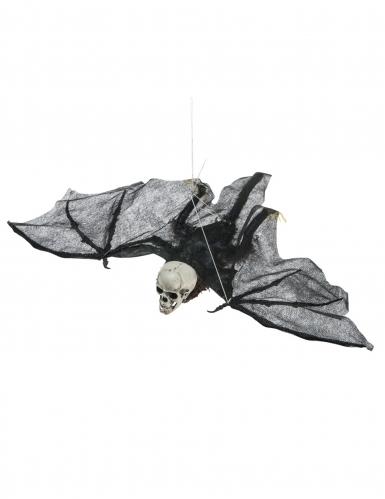 Skelett Fledermaus Halloween Hängedeko 50 cm