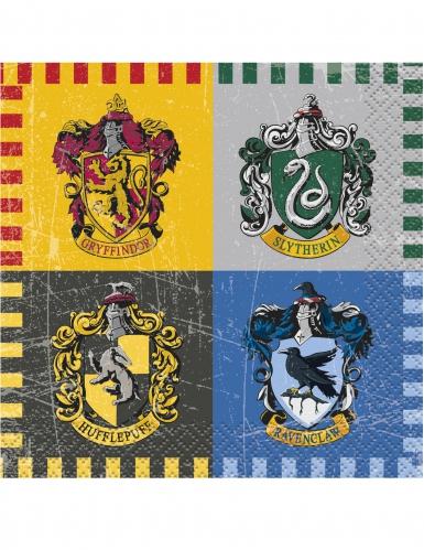 Harry Potter™ Papierservietten Party-Tischdeko 16 Stück bunt 25 x 25cm