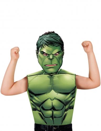 Hulk™-Kostüm für Kinder mit Maske grün