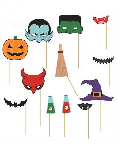Fotobuch-Set Halloweenmotive 12 Stück bunt