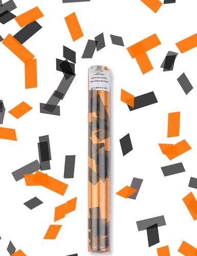 Halloween-Konfettikanone schwarz-orange