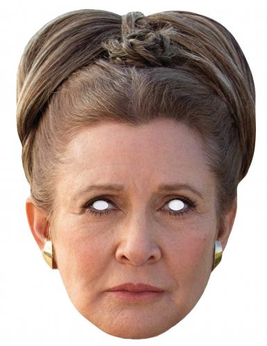 Prinzessin Leia™-Maske Star Wars™-Lizenzartikel beige-braun