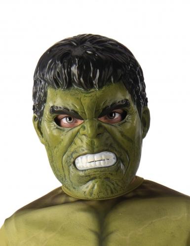 Hulk™-Lizenzmaske für Kinder grün-schwarz-weiss