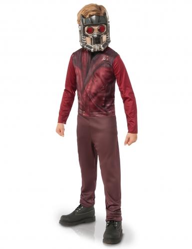 Star-Lord™-Kinderkostüm rot-braun-grau
