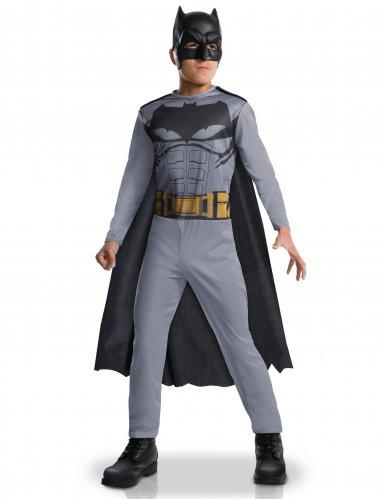 Batman™-Kinderkostüm Halloweenkostüm grau-schwarz