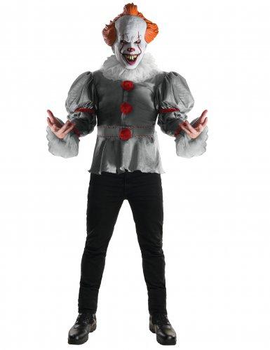 Pennywise-Kostüm Es™-Horrorclown grau