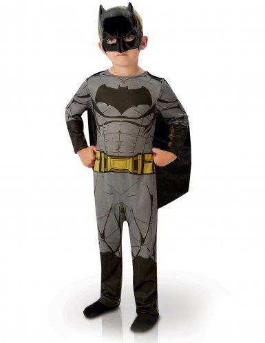 Batman™-Kostüm für Kinder mit Maske grau-schwarz