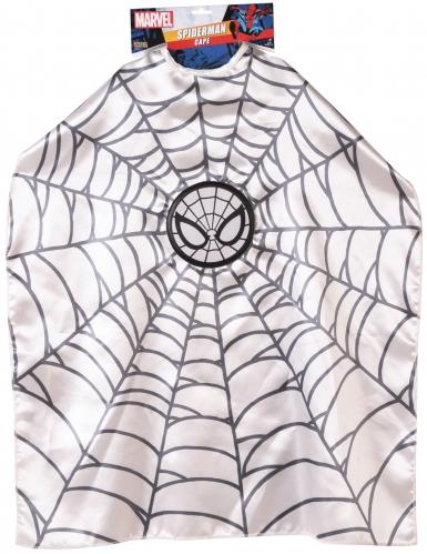 Spiderman™-Umhang für Kinder Kostüm-Accessoire weiss