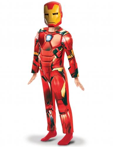 Iron-Man™-Kostüm für Kinder deluxe rot-gelb