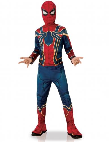 Iron Spider™-Kostüm für Kinder Infinity War™ Halloweenkostüm rot-blau-gold