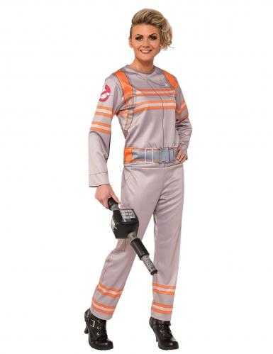 Ghostbusters™-Kostüm für Damen Halloweenkostüm beige-orange