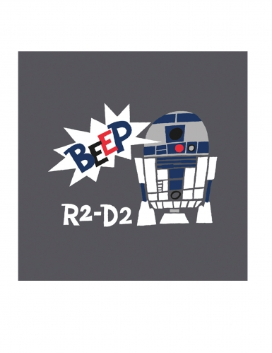Star Wars™ Servietten R2-D2 20 Stück bunt 16,5x16,5cm