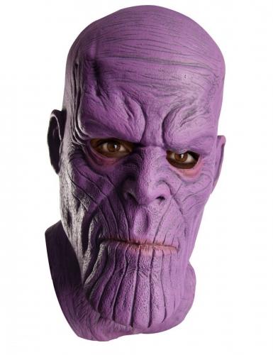 Thanos™-Maske aus Latex Marvel™-Maske violett