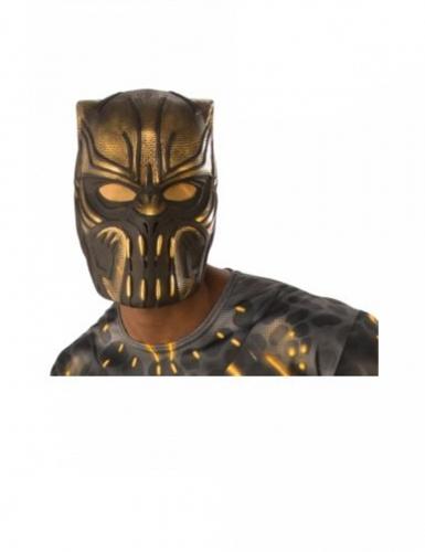 Killmonger™-Maske für Erwachsene braun-goldfarben