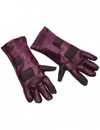 Star-Lord™-Handschuhe für Erwachsene rot-braun
