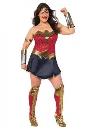Deluxe Wonder Woman™-Kostüm für Damen bunt