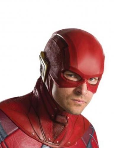 The Flash™-Halbmaske für Erwachsene rot-gelb