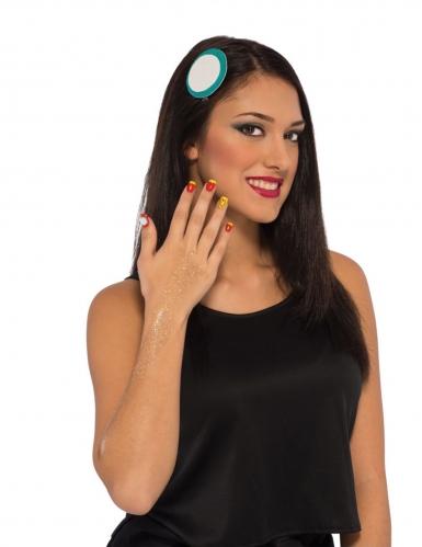 Iron Man™ Make-up Set für Damen bunt