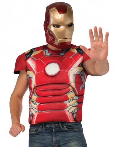 Iron Man™ Kostüm-Set für Herren bunt
