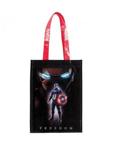 Captain America™-Süßigkeitentasche bunt