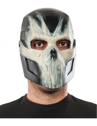 Crossbones™-Maske für Erwachsene Halloween-Maske schwarz-weiss
