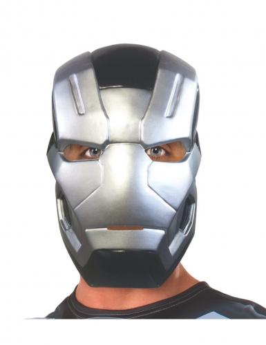 War Machine™-Halbmaske für Erwachsene grau-schwarz