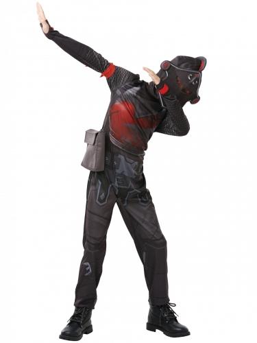 Black Knight Kinderkostüm Fortnite™-Lizenzkostüm schwarz-rot