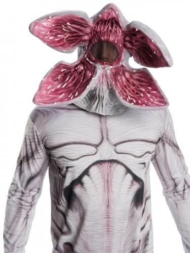 Bewegliche Demogorgon™-Maske Stranger Things™ Halloween-Maske grau-rot