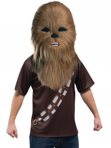 Chewbacca™-Maske für Erwachsene Star Wars™ braun