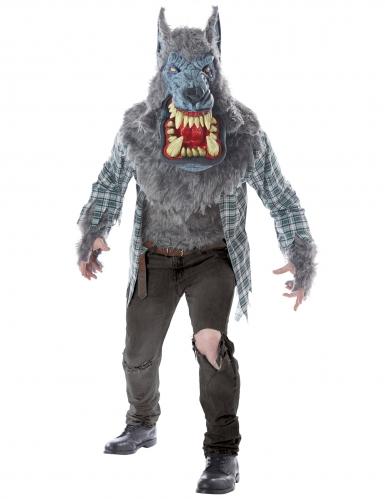 Werwolf-Kostüm für Herren bunt