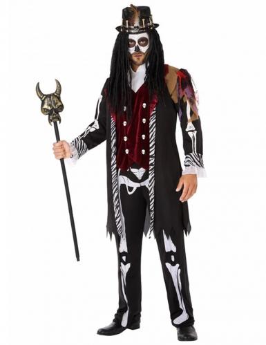 Voodoo-Herrenkostüm bunt