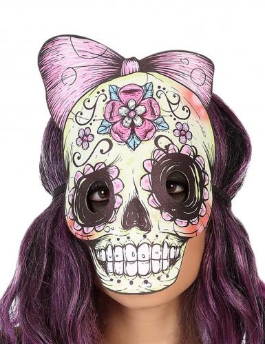 Dia-de-los-Muertos-Maske Totenkopf-Maske