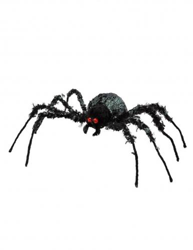 Hungrige Riesenspinne schwarz-rot 43 x 46 cm