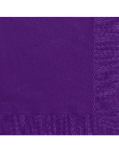 Halloween-Servietten 20 Stück violett 25 x 25 cm