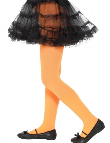 Strumpfhose für Kinder orangefarben