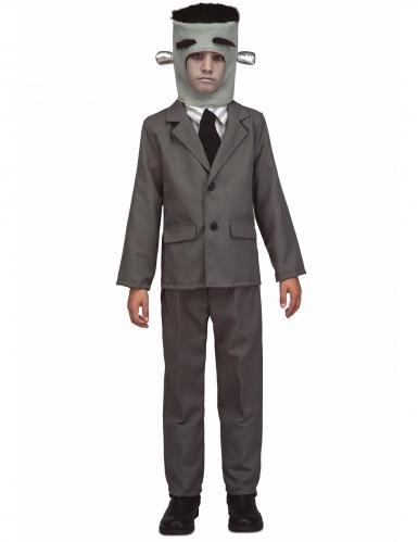 Francky Kinder-Kostüm für Jungs grau-schwarz