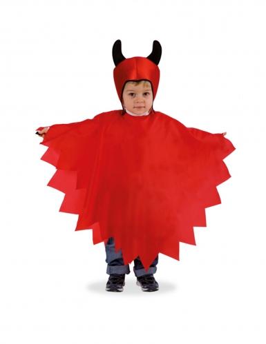Kleiner Satansbraten Kinder-Kostüm für Halloween rot-schwarz