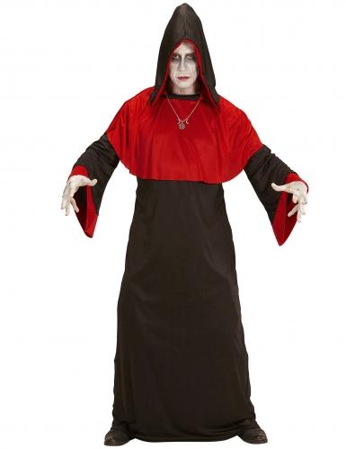 Dämonen-Priester Herren-Kostüm schwarz-rot