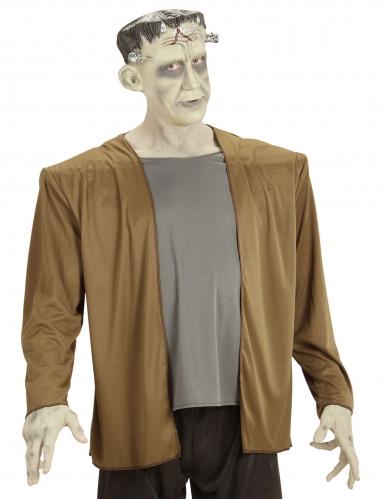 Berühmtes Monster Herren-Kostüm grau-braun