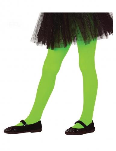 Kinder-Strumpfhose Halloween-Accessoire grün