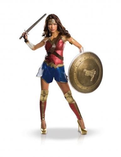 Wonder Woman™-Deluxekostüm für Sammler bunt